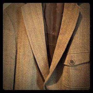 Tweed Pecan Brown sport coat